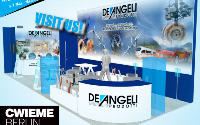 De Angeli Prodotti at CWIEME exhibition in Berlin on may 5-7: come to visit us!