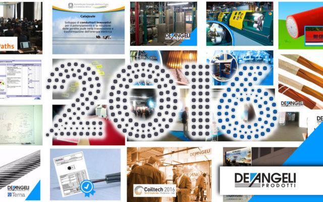 A 2016 full of innovation and success for De Angeli Prodotti