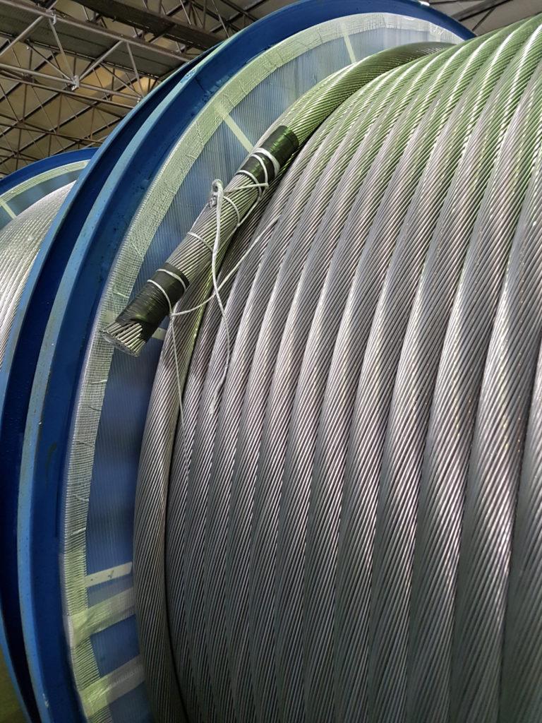 Conduttore rinforzato in alluminio e anti-ghiaccio