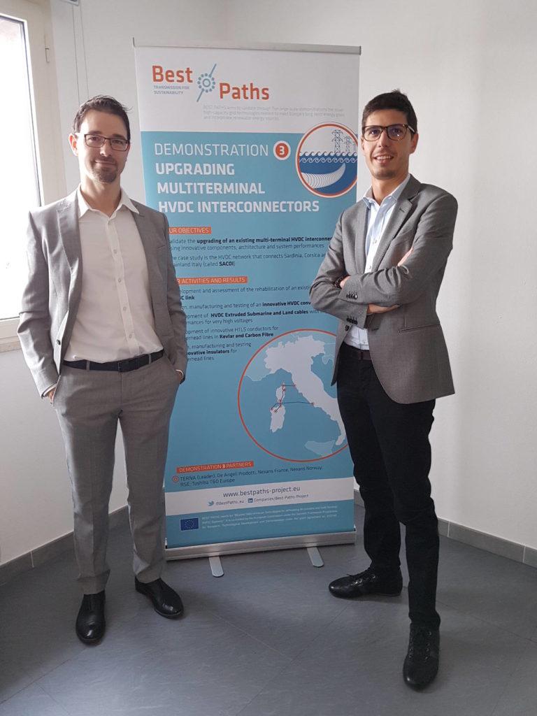 Davide Peroni and Giacomo Sarti, two of our collaborators