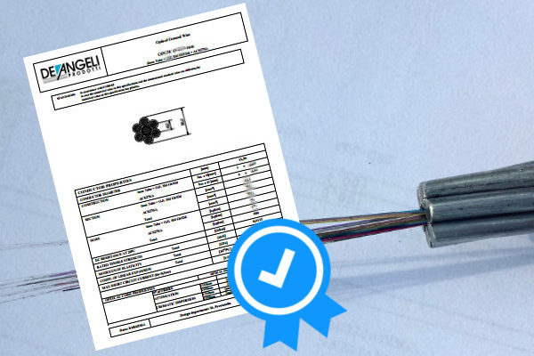 OPGW (OPtical Ground Wire) Ø 11,50 mm certified!
