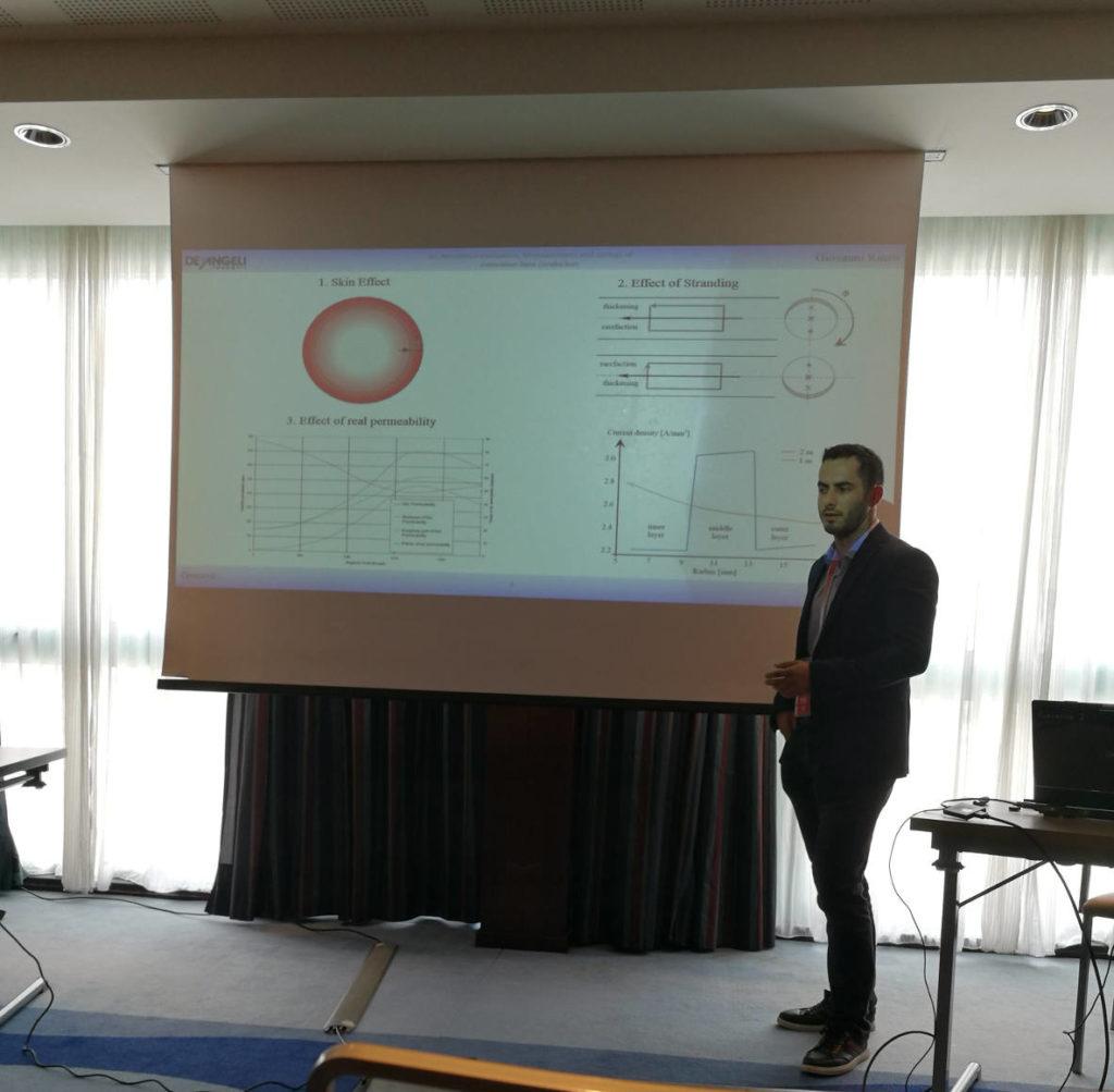 Una conferenza durante l'evento EEEIC