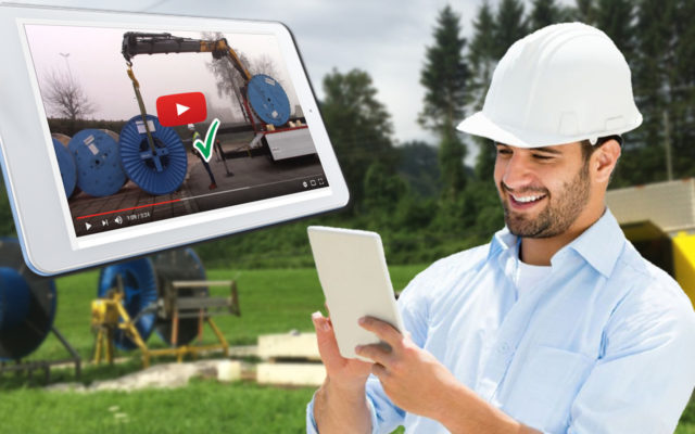 A new video to inform installers on the proper use of reels on installation sites