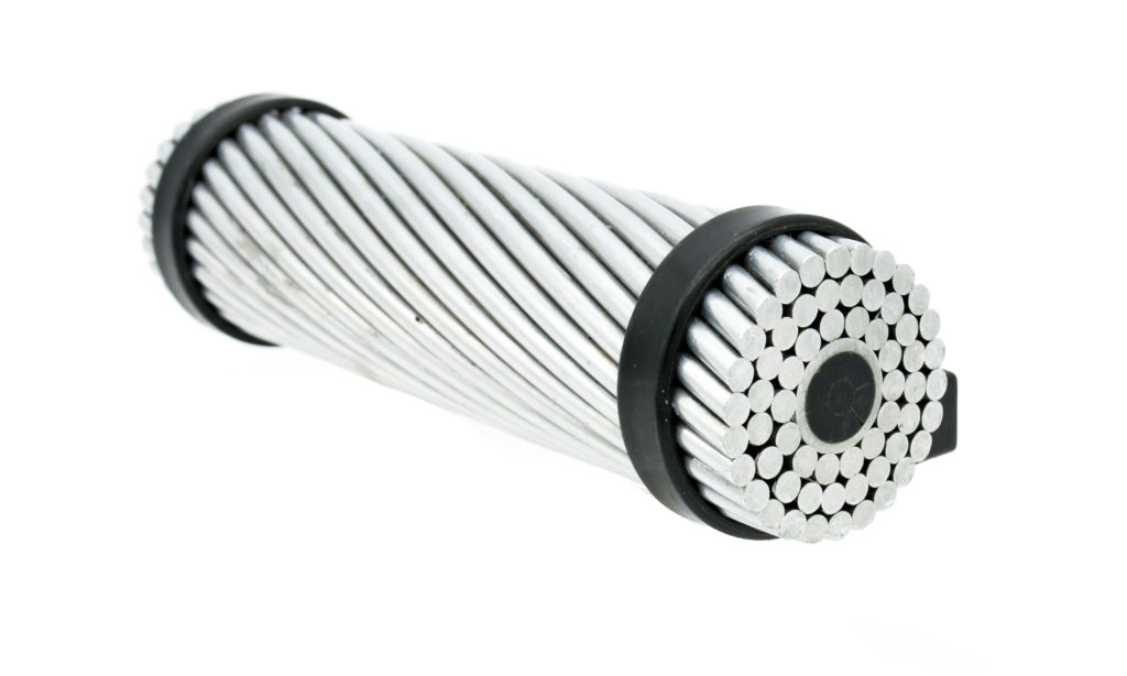ACCM Aluminium conductor carbon multistrand