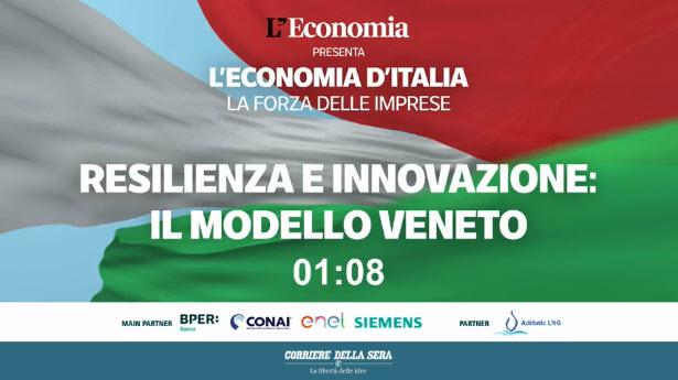 Il Corriere della Sera e BPER banca premiano De Angeli Prodotti per l'Innovazione e la Resilienza